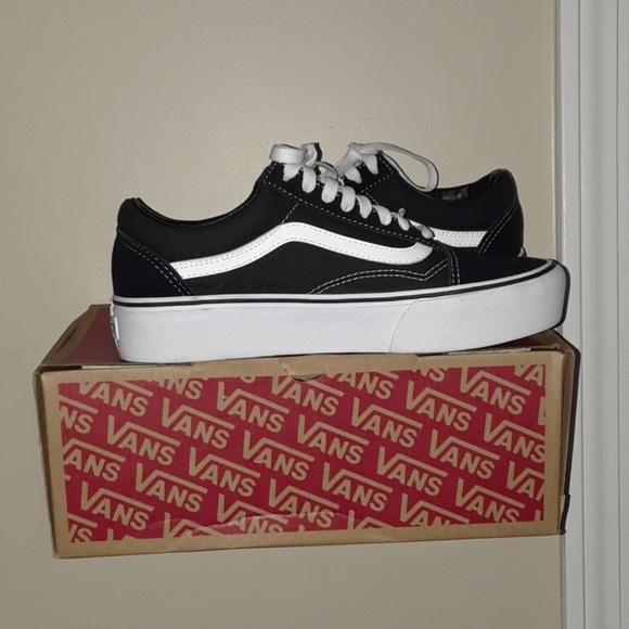 Vans Shoes | New Old Skool Platform